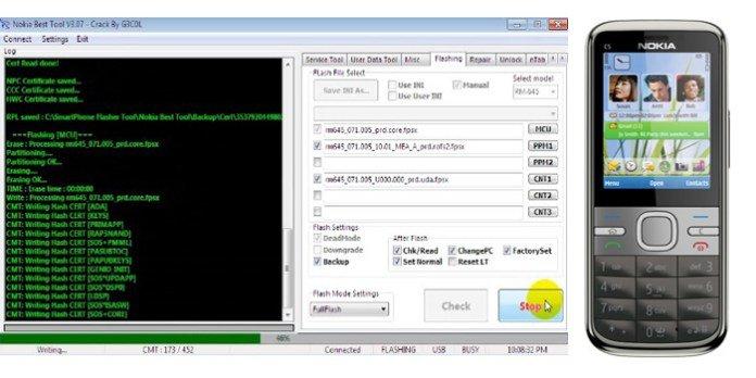 Nokia C5-00 Flash File Latest Version