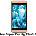 Intex Aqua Pro 4g Flash File
