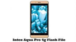 Intex Aqua Pro 4g Flash File Latest Version and Original