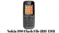 Nokia 100 Flash File (RH-130) Latest Version