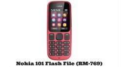 Nokia 101 Flash File (RM-769) Latest Version
