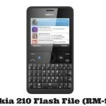 Nokia 210 Flash File