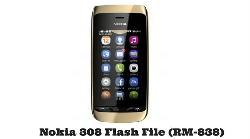 Nokia 308 Flash File