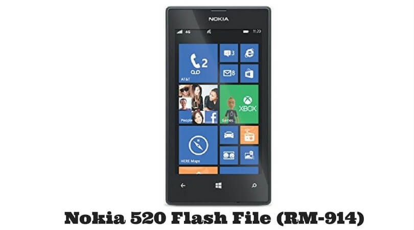 Nokia 520 Flash File