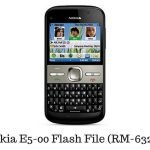 Nokia E5-00 Flash File (RM-632)