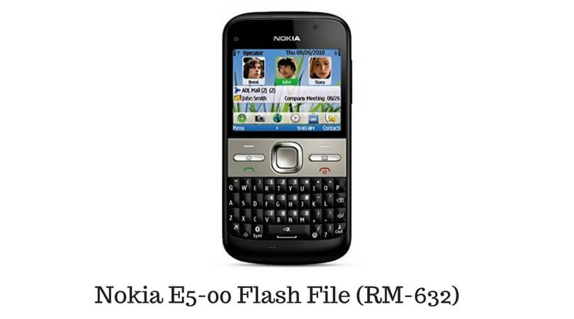 Nokia E5-00 Flash File (RM-632)