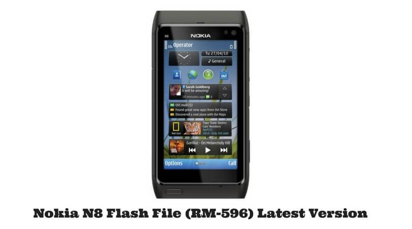 Nokia N8 Flash File
