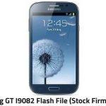 Samsung GT I9082 Flash File