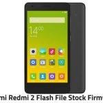 Redmi 2 Flash File