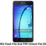 Samsung ON5 Flash File