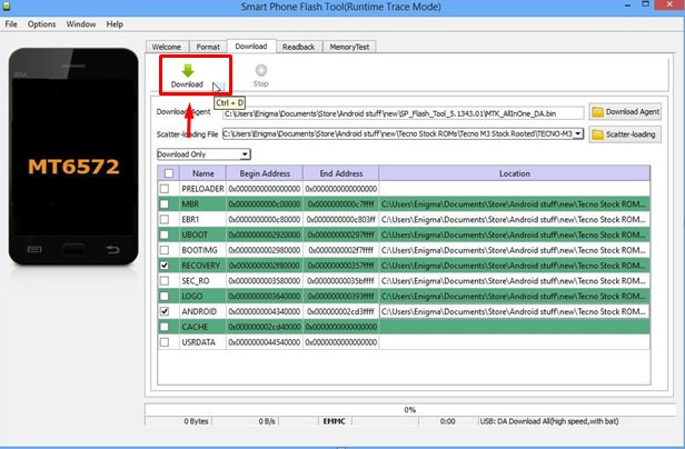 How to Use SP Flash Tool,SP Flash Tool