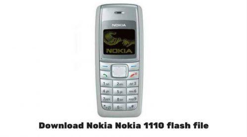 Nokia 1110 RH-70 Latest Flash File » GsmDaddy